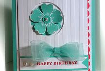 Stampin' Up! - Flower Shop & Pansy Punch