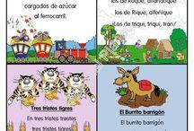 Trabalenguas/nyelvtörők