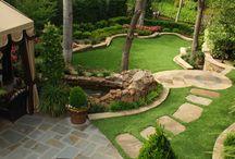 Lush Landscapes / Luxurious Lawns and Garden Sanctuaries