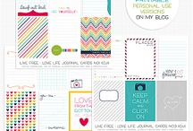 Project Life - Printables