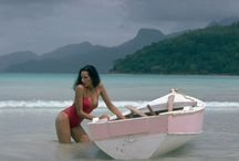 island girl and beach babe