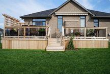 CD³ Inc - Composite & Cedar Deck Renovation / Coleman-Dias³ Construction Inc - Composite & Cedar Deck Renovation  / by Coleman-Dias³ Construction