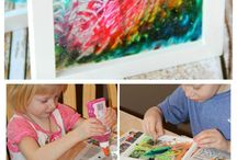 kids artwork projects