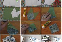 Arte <3 / projetos artisticos manuais, envolvendo pouco custo e até mesmo reciclagem
