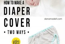Diapers / Plenky a látkování