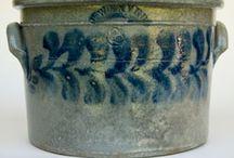 Antique Crocks, Jugs, & Stoneware