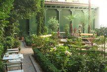 jardin café