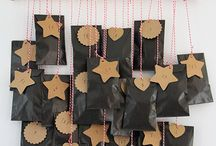 DIY note advent calendar