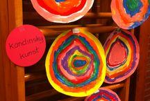 Kunst voor kinderen / Kunst project