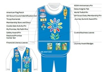 Girl Scout Insignia Placement / by Girl Scouts of Nassau County