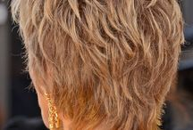 Back view of hairstyle
