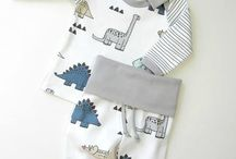 winter baby sewing