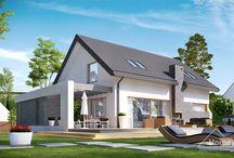 HomeKONCEPT 5 | Projekt domu / HomeKONCEPT-05 to wyjątkowy projekt nowoczesnego domu jednorodzinnego z poddaszem użytkowym. Wyróżnia go przyjemna, stylowa bryła oraz funkcjonalne wnętrze wpisane w optymalną powierzchnię użytkową. Prostota i elegancja bryły oraz funkcjonalność tego domu sprawiają, że będzie on doskonałą propozycją dla  Inwestorów poszukujących niebanalnych lecz prostych i praktycznych rozwiązań.