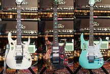 Steve Vai Guitars.