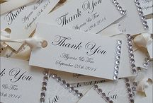 Gift Tags / Beautiful Thank You And Gift Tags For Your Favor And Gift Giving Packaging.