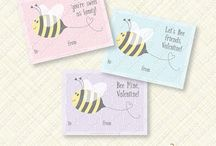 Printable Valentines / Valentines you can edit and print!