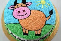 Bánh sinh nhật tuổi trâu