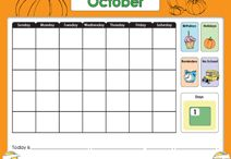 SMART Board Calendars / by Modern Chalkboard
