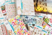 Before the Pen Planner Spread / Before the Pen planner spreads to ignite your creative mojo!