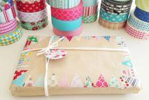 regalos con papel kraft