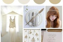 Preppy Wedding Colors / Find color ideas for a preppy wedding along with inspiration for the best preppy wedding color combinations.