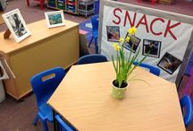 Preschool room layout