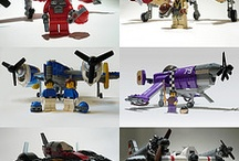 Lego aircraft / A selection of plane made with legos