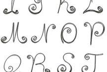 Letras/alfabeto