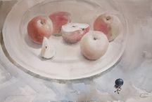 Still life / still life watercolor