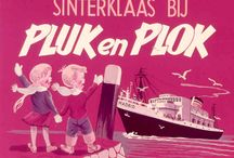 Sinterklaas filmstroken / 'Filmstroken' Pluk en Plok, jaren 60 /70