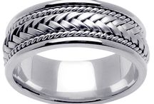 Men's Wedding Bands / Let us help you find the perfect wedding band for your future husband.  / by deBebians