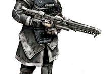 Neck/gorget armor