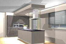 3D Design / Eine Auswahl unserer 3D Küchen Planungen