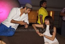 Bombay Velvet stars at Cinnamon Hotels & Resorts  / The press conference & for Bombay Velvet, (Bollywood movie to be launched during Christmas 2014) held at Cinnamon Grand Colombo on the 16th of August 2013. It was a proud moment for Sri Lanka as a nation to hear that the ideal location for the movie had been sought for 9 years.
