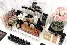 Organização maquiagem / Inspirações para você arrumar agora mesmo sua penteadeira!
