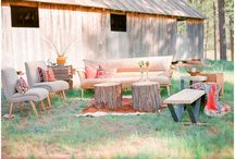 Garden Wedding Chill Out Areas