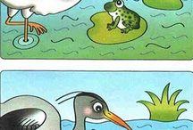 Zrakové vnímání - Hledej rozdíly - batolata