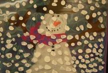 Winter themed preschool
