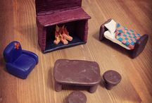 Polymer clay furniture