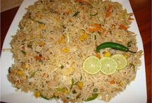 Rice dishes / Rice mains and sides