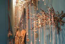 Βιτρίνες με κοσμήματα