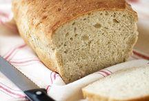 Pan en amasadora