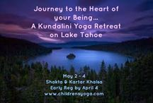 Kundalini Yoga Retreats / My husband, Kartar, and I have been married 36 years, and have been on the spiritual path for as long since we met in the Kundalini yoga ashram in 1976!  We bring all our own personal growth, joy, humor and depth to these retreats.  Only 3 for 2014--Kripalu in MA, Shenandoah Retreat in VA, and Lake Tahoe, right on the lake! / by Shakta Khalsa