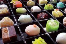 Wagashi, Japanese tea sweets / by Cecilia Ai
