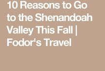 Fodor's Recommends / Shenandoah Valley