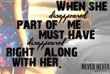 Books--Colleen Hoover & Tarlyn Fisher / Books / by Holly Douglas
