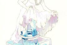 water colour art