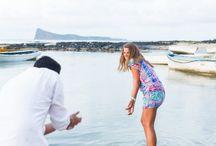 Engagement Session Mauritius Island / Une séance engagement réalisée sur l'île Maurice. Reportage par Fanny Tiara Photographie.