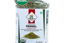 Buy Online 24 Mantra Organic Fennel Seed from USA