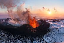 Вулканы, гейзеры (Volcanoes, geysers)
